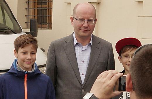Premiér na návštěvě Moravské Třebové