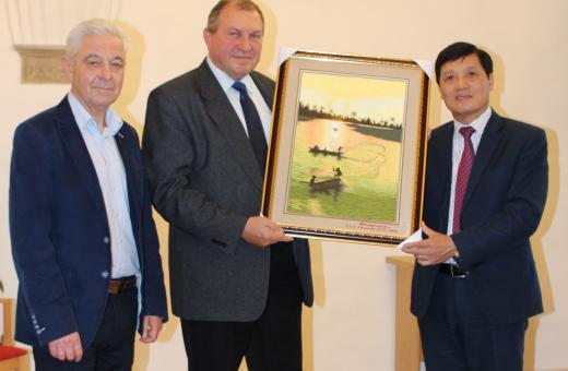 Moravskou Třebovou si prohlédl vysoký představitel Vietnamu